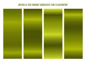 Shiny Lime Green Rio Grande Gradients  vector