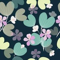 Bold Pastel Floral Seamless Pattern