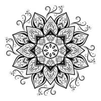 design decorativo mandala in stile retrò