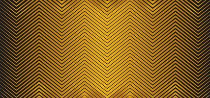 diseño de metal dorado en zigzag vector