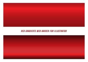 conjunto gradiente vermelho vetor