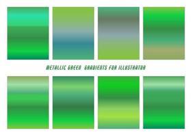 Shiny Green, Blue Gradients vector