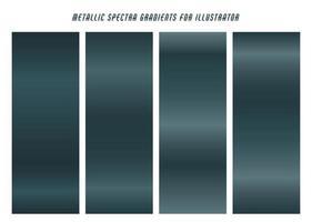 dégradés de gris bleu foncé brillants