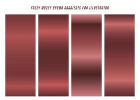 Purplish Pink ''Fuzzy Wuzzy'' Gradients vector