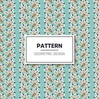 Seamless pattern with vintage decorative elements vector