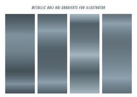 Shiny, Blue Grey ''Bali Hai'' Gradients vector