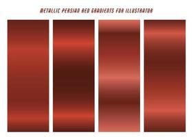gradientes vermelhos persas brilhantes vetor