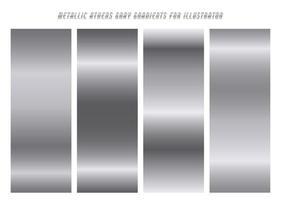 Shiny ''Athens'' Gray Gradients vector