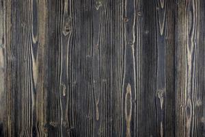 Dark wood table surface