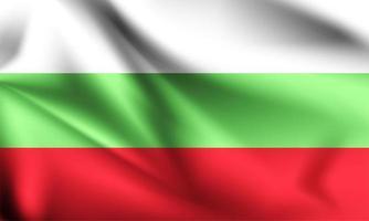 Bulgaria 3d flag