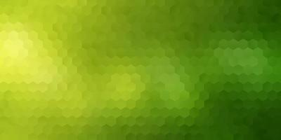 Green dotted geometric banner vector