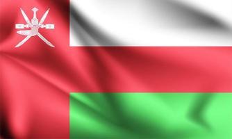 drapeau 3d oman