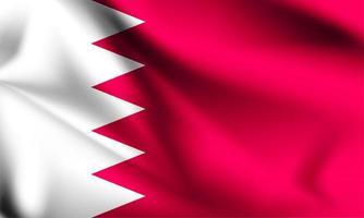 drapeau 3d bahreïn