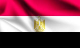egipto bandera 3d