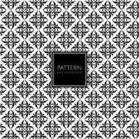 Floral tile decorative pattern vector