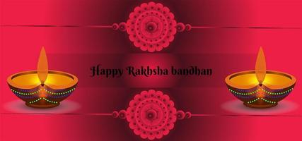 Raksha Bandhan Festival Abstract Background vector