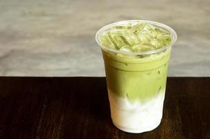 café con leche matcha helado