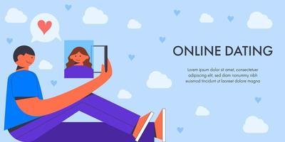 hombre citas en línea con mujer