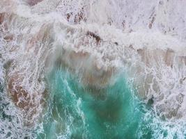 Ocean waves from above