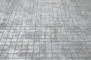 Square tile floor  photo