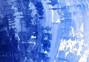 textura de acuarela azul abstracta