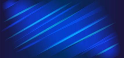 conception d'art abstrait ligne bleue rougeoyante