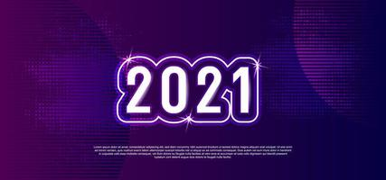 design 2021 brillant violet brillant
