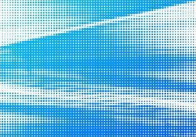 dessin abstrait en pointillé bleu et blanc
