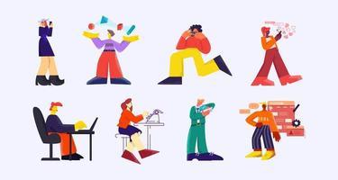 dispositivos da web modernos e conjunto de caracteres de tecnologia