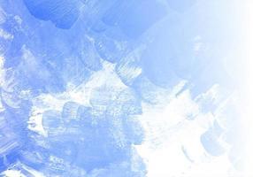 Fondo de textura de acuarela azul abstracto