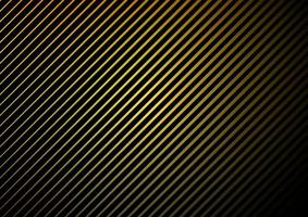 Gradieny yellow and black diagonal line pattern vector