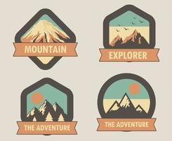 Explorer and adventure badges