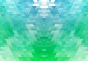 Abstract colorful green gradient geometric shapes vector