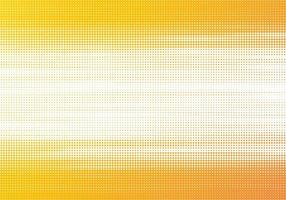 Modern colorful halftone yellow background vector