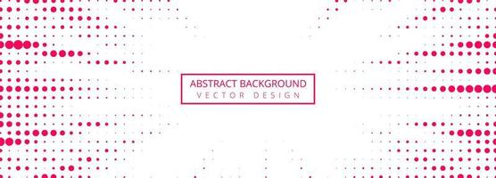 Abstract red faded dotted banner  vector