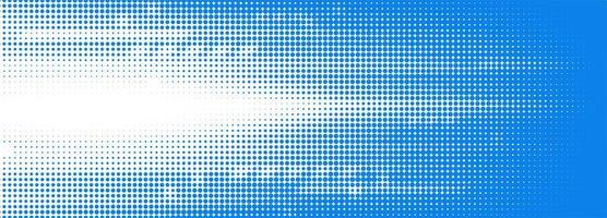 Abstract blue and white tech dotted banner