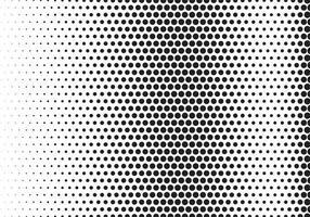 Modern black halftone pattern background vector