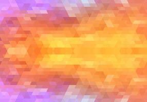 diseño de mosaico moderno colorido rosa naranja formas geométricas vector