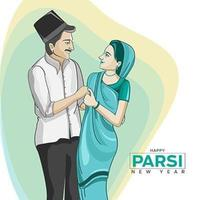 celebración del año nuevo parsi