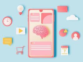 smartphone en werkelementen