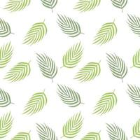 Tropical leaves repeated pattern