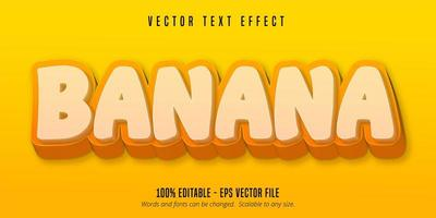 Yellow banana text