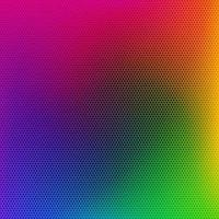 Rainbow Colored Metal Grate Pattern vector