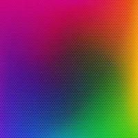 patrón de rejilla metálica de color arcoiris vector