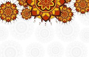 achtergrondpatroon van mandala's