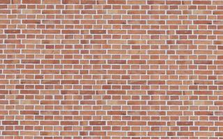 Redbrick wall masonry