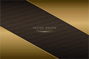 Metallic angled plates with carbon fiber texture
