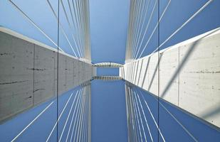 brug van onderen