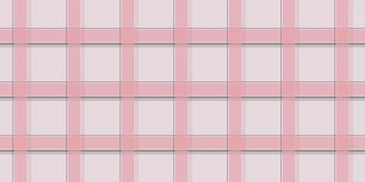 Pastel pink tartan checkered seamless pattern