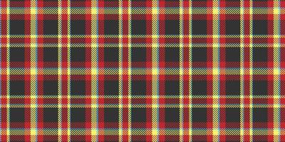 Bold colour tartan plaid seamless pattern vector